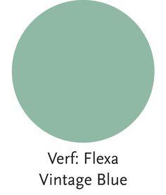 Stijl Studio Modern Nomad | Wand kleur Vintage Blue | #Flexa #Eijerkamp #kleurinspiratie