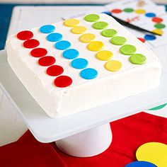 Game-Theme Birthday Parties: Twister, Soccer, and More!: Twister Party: Dessert