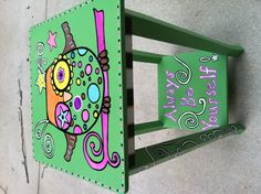 Fun to paint furniture for the classroom