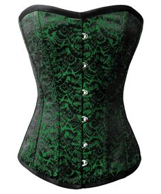 fdce9ef0669 Reilly Brocade Overbust Gothic Corset for Plus Size