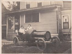 The original owner of my house built a racecar in the garage in 1919