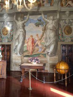 Sala delle Muse e dei Poeti.