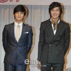 Kim Bum and Lee Minho