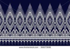 Ethnic pattern. Geometric pattern. Ethnic background pattern, Ethnic wallpaper pattern, Ethnic clothing pattern, Ethnic wrapping pattern.Geometric Ethnic pattern design for background or wallpaper.