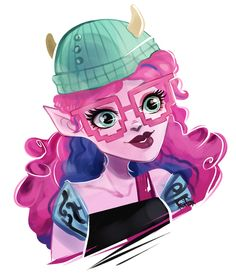 Kjersti Trollson - Monster High Exchange wave 2