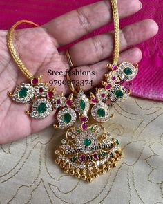 Pretty Silver Mango Necklace From Sree Exotic Silver Jewelleries ~ South India Jewels Silver Jewellery Indian, Gold Jewellery Design, Jewellery Sale, Egyptian Jewelry, Silver Pendant Necklace, Sterling Silver Pendants, Necklace Set, Silver Earrings, Silver Bracelets