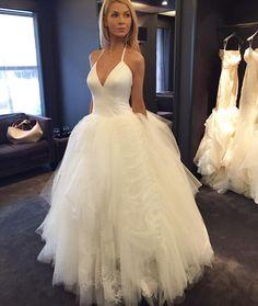 Lovely New York Bridal Fashion Week Show new collection wedding dress designer bridal gown catwalk runway Inspiration New York Bridal Week Pinterest