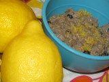 Lemon Blueberry Oatmeal- 316calories