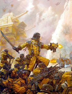 Armageddon Steel Legion - Warhammer 40k Games Workshop artwork