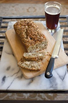 Asiago-Garlic-Herb Bread with spent grain