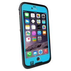 iPhone 6S/6 Waterproof Case, Punkcase SpikeStar Light Blue for iPhone 6 & 6S Thin Fit 6.6ft Underwater IP68 Waterproof Case PUNKIP6R003