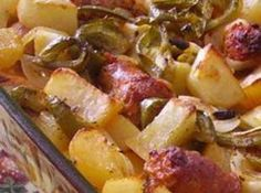 Italian Sausage with Peppers, Onions  and Potatoes Recipe