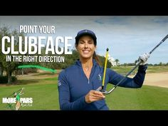 Point Your Clubface in the Right Direction Crazy Golf, Crazy Crazy, Golf Basics, Golf Putting Tips, Golf Instruction, Golf Wear, Golf Stuff, Christina Ricci, Golf Lessons