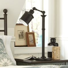 Dupont Bronze Table Lamp