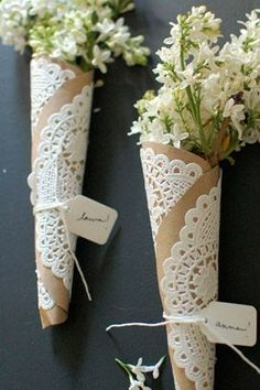 brides of adelaide magazine - diy wedding ideas - DIY - kraft paper