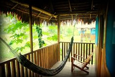 Cabin in Iquitos, Peru. Curassow Amazon Lodge is located 145 km or 90 miles upriver from Iquitos in primary/virgin jungle, exceedingly rich in species of both plants and animals.  Curassow Amazon Lodge is located 145 km or 90 miles upriver from Iquitos, Peru and about 3 ...