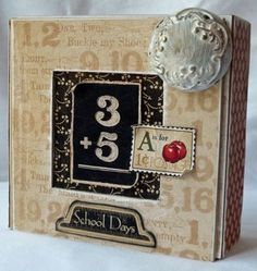 Another fantastic creation by @Gloria Stengel! Her embellishments are what crafty dreams are made of - from our blog today!