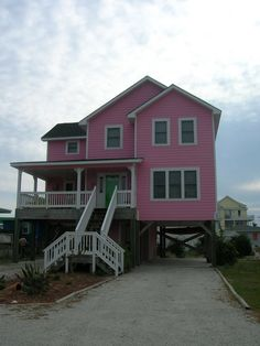 little pink houses | Little Pink Houses for You and Me