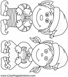 Christmas Coloring Page 104