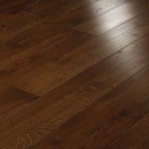 Bespoke 21 x 180mm Rustic European Oak 'Castlewood' Engineered Wood Flooring - Crown
