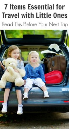 7 Items Essential for Travel with Little Ones