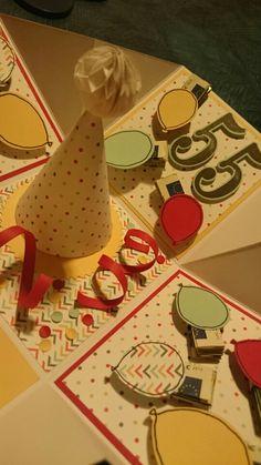 imageExplosions-Box, Explosionsbox, Partyballons, Fasching, Geburtstag, so viele Jahre, große Zahlen, Stampin'Up, www.aufgestempelt.de