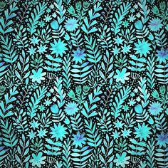 #pattern #floral #markovka #watercolor #drawing