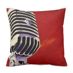 Microphone Pillow
