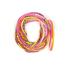 Pink Scarf Yellow Scarf Cowl Christmas Presents Gift by Necklush Scarf Necklace, Fabric Necklace, Family Christmas Gifts, Christmas Presents, Festival Outfits, Festival Clothing, Festival Accessories, Hippie Festival, Pink Scarves