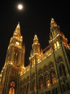 Austria Picture Gallery The Rathaus, Vienna's amazing town hall