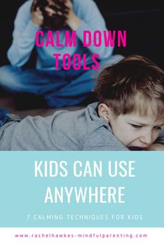 Calm down tools to help regulate emotions with your children. From toddler to teens these calming techniques can help your son and daughter deal with their emotions.
