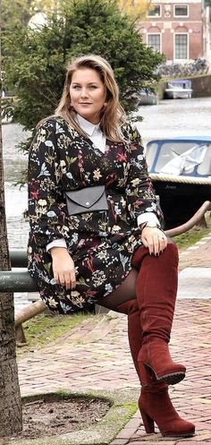 Plus Size Mode - Herbstgq Plus Size Fashion For Women, Plus Size Womens Clothing, Clothes For Women, Size Clothing, Plus Size Inspiration, Mode Inspiration, Curvy Girl Fashion, Fashion Mode, Plus Size Dresses