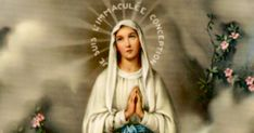 On February 11, 1858, a young lady appeared to Bernadette Soubirous. This began a series of visions. During the apparition on March 25, the lady identified herself with the words: �I am the Immaculate Conception.�