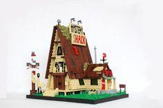 Lego Projects, Projects For Kids, Lego Tv, Lego Ship, Cool Lego, Awesome Lego, Brick Loft, Lego Construction, Lego Castle