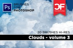 Clouds brushes Volume 3 on @creativework247