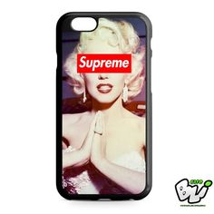 Marilyn Monroe Supreme iPhone 6 Case | iPhone 6S Case