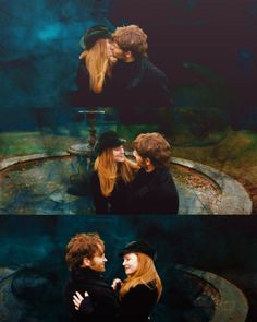 James & Lily Potter   Harry Potter    #adrianrawlins #geraldinesomerville #couples