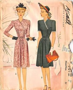 Misses dress in 11 pieces. Our PRE-OWNED patterns are all UNCUT (unless specifically stated) and may have some wear, marks and discoloration. If you want to know specifics, please email us. The photo