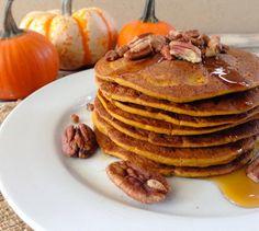 Pumpkin Spice Pancakes Recipe on Yummly