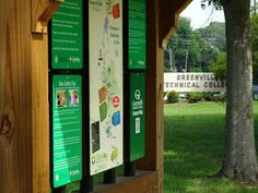 The Swamp Rabbit Trail, Upstate SC - a multi-use greenway from TR to Conestee. 2 mile section from Greenville Tech to Cleveland Park