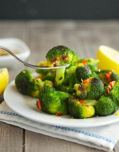 The Little Beet's Charred Broccoli by theironyou #Broccoli #Garlic #Lemon