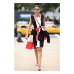New York Fashion Week Street Style Spring 2013 Edition found on Polyvore