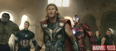 The Avengers unite against Ultron in Marvel's 'Avengers: Age of Ultron,' hitting theaters May 1! Get tickets: http://Fandango.com/Avengers