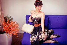 """Desert Jet Setter"" May 2012  Creative Director | Stylist {Sydney Ballesteros} * Photography | Stacia Lugo * Model | Lisa Marie {FORD} Wardrobe | Black Cat Vintage         #vintage #style #spring2012 #colorfuldesert #palmsprings #1950s"