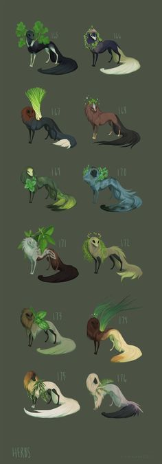 Herbs by witherlings.deviantart.com on @DeviantArt