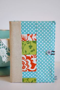 Patchwork Covered Notebook
