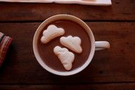 """""""clouds in my coffee"""" (Thank you , Carly Simon!)"""