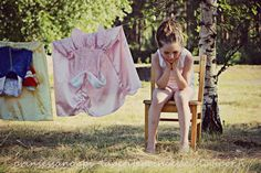 La Petite Princesse washing her laundry