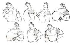Character Sketches Inspiration. Miles de Personajes para Animadores & Ilustradores.   notodoanimacion.es