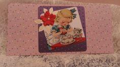 Little birthday girl pocketcard